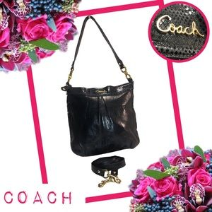 COACH Ashley Leather Hippie Crossbody Bag F20114